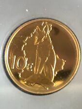 Goldmünze Luxemburg 10 Euro Renert Fuchs 2011 Proof limitiert