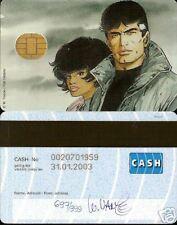 W.VANCE  XIII : Carte de crédit tirée à 999 Ex N°/S !!