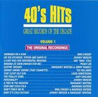 Vol. 1-40's Hits - Great Records Of The Decade (1990, CD NEUF) Crosby/L