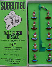 SUBBUTEO TEAM WEST HAM UTD (ENG) HW REF N.7 PLAYERS AND LONG BOX GREAT CONDITION
