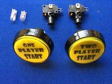 Paire de boutons Start Arcade XL 60 mm PRO ***