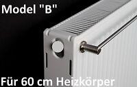 """""""B"""" Handtuchstange für 60 cm Heizkörper Edelstahl Magnethalterung Handtuchhalter"""