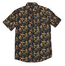 Evil Dead Men's Button Up Shirt 2Xl Xxl Creepy Co Halloween 🎃