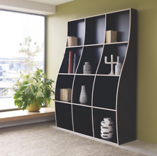 ATLAS Black Curved Bookcase Extension ***RRP £90***