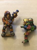 Warhammer Iron Claw Astronaut And Jump Trooper Vintage Figure Citadel OOP