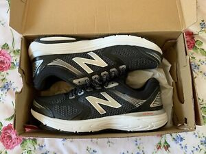 BNIB New Balance 560v7 Abzorb TechRide Ultra Soft Ortholite Black Trainers UK 7