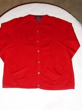 Woman's 100 % Cashmere CHARTER CLUB  Button Front Cardigan Sweater, Sz. Small