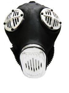 Cosplay Mask Apocalypse Hardware Rubber Aluminum Fang Costume Gas Mask Cosplay