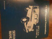 AM Dispatcher 100 Light Delivery Truck Model DJ-5L Service Manual Print 1982