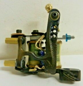 handmade carved junebug jonesy 2008 tattoo machine liner NOT SHARPZ CAIN CIFERRI