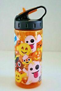 HALLOWEEN Cool Gear International 16oz Plastic Water Bottle with Flip Up Spout
