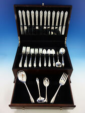 Virginian by Oneida Sterling Silver Flatware Set for 12 Service 64 pieces