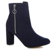 Principles 'Bena' Block Heel Ankle Boots rrp £52 UK 4 EU 37 JS085 EE 08