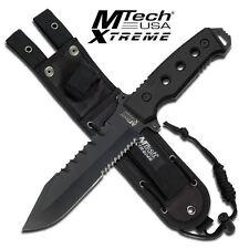 KNIFE COLTELLO DA CACCIA MTECH-8098K SURVIVOR SOPRAVVIVENZA SURVIVAL STILE RAMBO