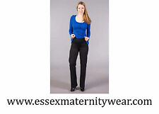 Straight Leg Over Bump Rise 32L Maternity Trousers