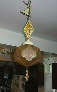 C 1930,S LIGHTOLIER ART DECO PARROT FIGURAL LIGHT FIXTURE / CHANDELIER