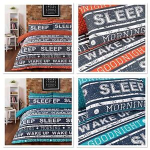 Duvet Cover With Pillow Case Quilt Cover Bedding Set Single Double and King