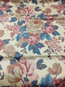 6yds Waverly Old Mill Inn Country Inn Backroads Special Places Upholstery Fabric