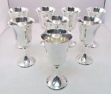 "Gorham 272 Sterling Silver Wine Water Goblet Set of 8 No Monograms 6½"" (#5671)"