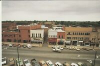 Frankfort, IN - 1983 Bird's Eye View of Washington Street - North Side of Square