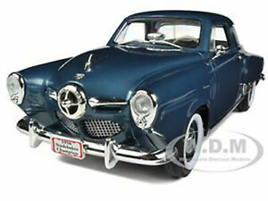 1950 STUDEBAKER CHAMPION BLUE MET. 1/18 DIECAST MODEL CAR ROAD SIGNATURE 92478