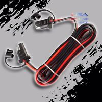 "16 Gauge 96"" Car Quick Disconnect Connect 2-Pin SAE Waterproof Wire Harness Plug"