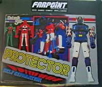 Vintage Deluxe Set PROTECTOR Self Separation Japan Robot Toy in Original Box
