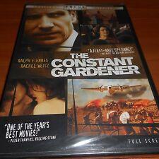 The Constant Gardener (DVD, 2006, Full Frame) Ralph Fiennes, Rachel Weisz NEW