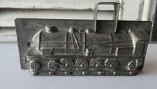 Antike Schokoladenform-chocolate mold-Dampflokomotive-RAR!-Nr.4655