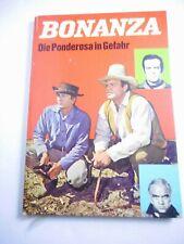 Dfgh Bonanza Hard Cover Book Die Ponderosa in Gefahr 1969 germany