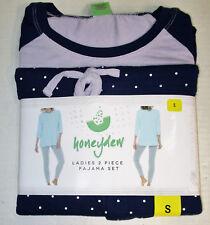 d5034696f878 Honeydew Ladies 2-Piece Lounge Pajama Set, Size Small, Maya Dot