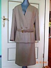 Vintage Beauty Albert Nipon women's  wool rayon  suit skirt blazer size 16
