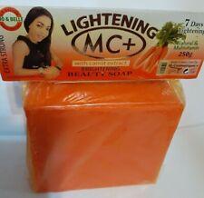MC+ Carrot Lightening  Brightening Beauty ORANGE Soap - Nona All Skin Type 250g