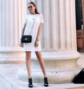 ZARA NEW WHITE DRESS SIZE XS