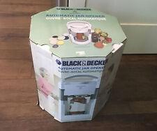 New listing New In Box Black & Decker Lids Off Automatic Jar Opener Kitchen Gadget Free Ship