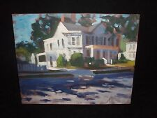 CRANBURY IN THE AFTERNOON PAINTING BY JOSEPH GYURCSAK MASTER ARTIST