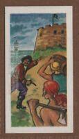 Fort Toutuga Pirate Buccaneers Caribbean The Dovecot  Vintage Ad Trade Card