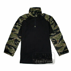 Tiger Stripes G3 Combat Shirt Tactical Miliaty Army Airsoft Uniform Long Sleeve