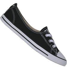 38,5 Scarpe da ginnastica di tela nera per donna