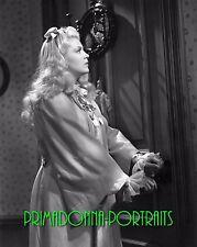 "LANA TURNER 8X10 Lab Photo B&W 1941 ""HONKY TONK"" Adorable Nightgown Portrait"