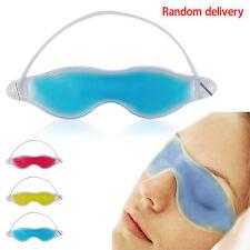 Cool Gel Eye Mask Cold Pack Warm Heat Ice Sleeping Tired Mask