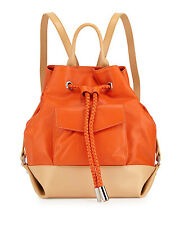 L.A.M.B. two-tone leather backpack Purse