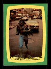 1979 Topps HULK sticker # 6
