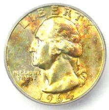 1964 Washington Quarter 25C - Certified ICG MS67+ Plus Grade - $680 Value!
