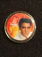 ~Elvis Presley~  The King of Rock 'n' Roll    ~Color Collectible Coin~ 1935-1977