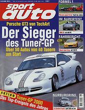 sport auto 8/00 2000 BMW Z8 Edo 550 Maranello Lotus Exige Novitec Alfa 156 SL129