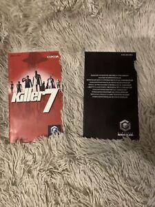 Manual Killer 7 (Nintendo GameCube, 2005