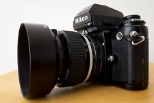 Nikon f3 HP techniquement Top & Nikkor 1:1,2/50 mm f/1.2 & HS 12 Shade