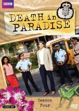 Death in Paradise: Season Four (DVD) New DVD! Ships Fast!