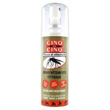Cinq sur Cinq Anti-Moustiques Spray Vêtement 100ml